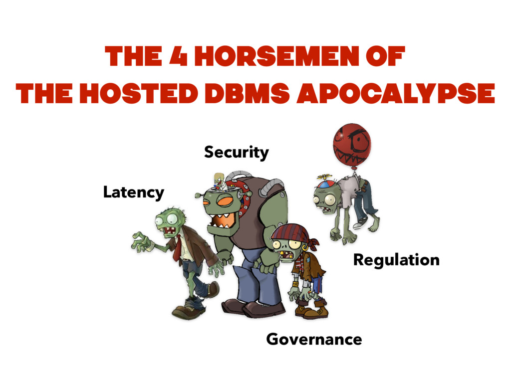 Latency Security Governance Regulation THE 4 HO...