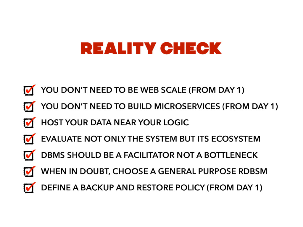 REALITY CHECK YOU DON'T NEED TO BE WEB SCALE (F...
