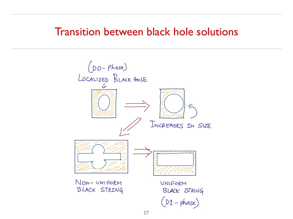 Transition between black hole solutions !17 (DO...