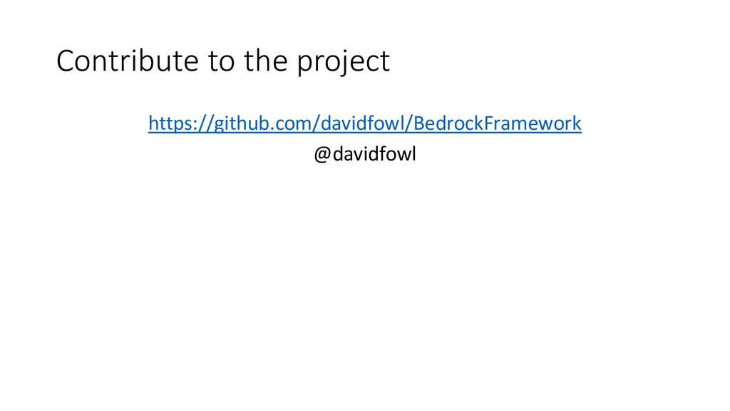 Contribute to the project https://github.com/da...