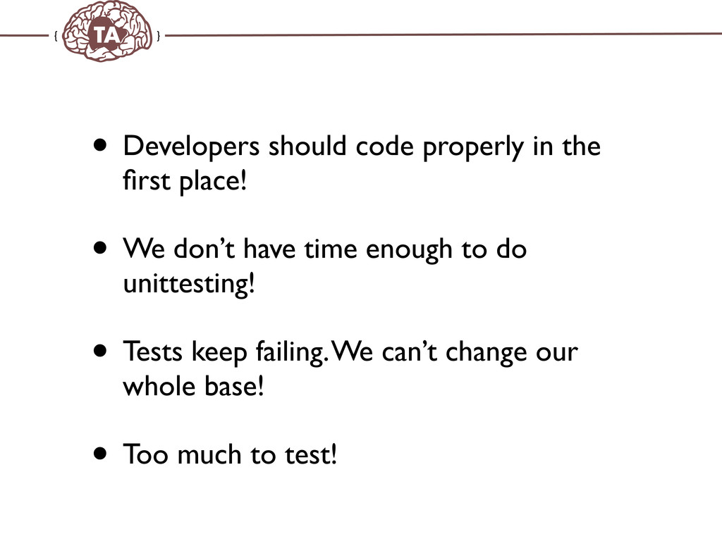 TechAdemy.nl • Developers should code properly ...