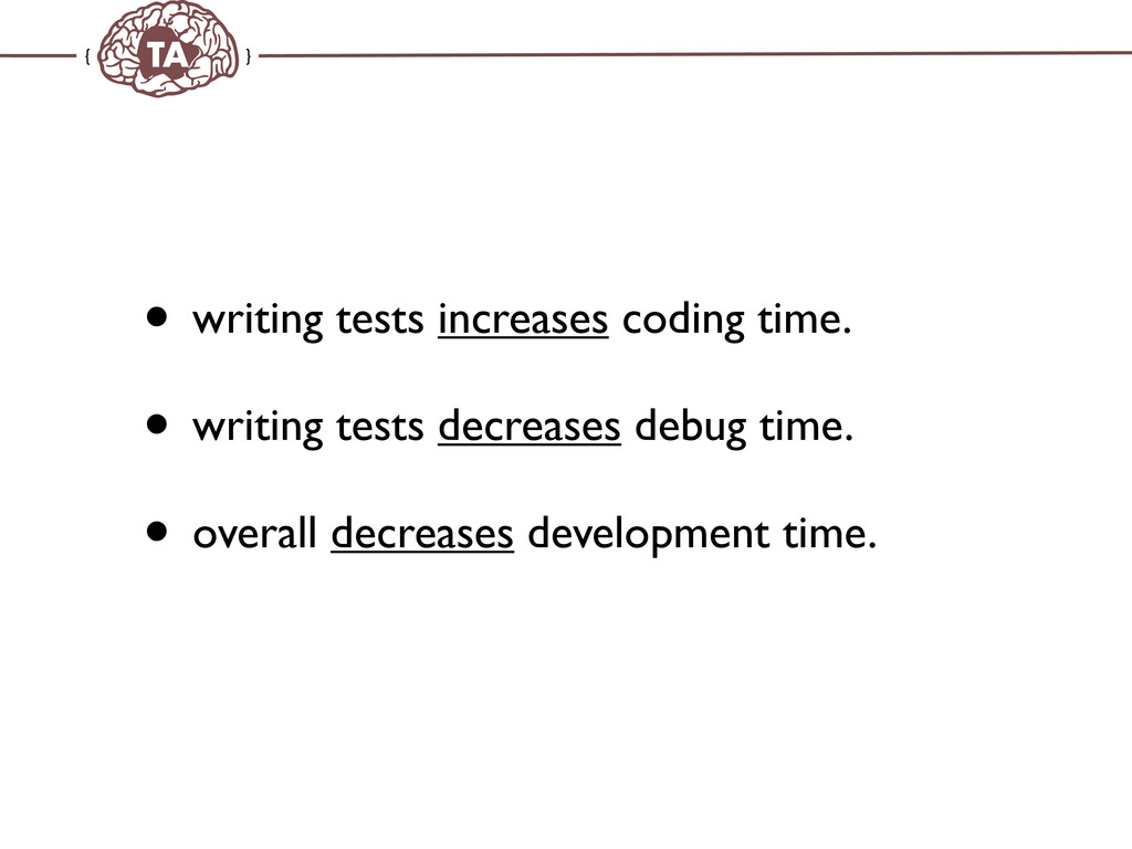 TechAdemy.nl • writing tests increases coding t...