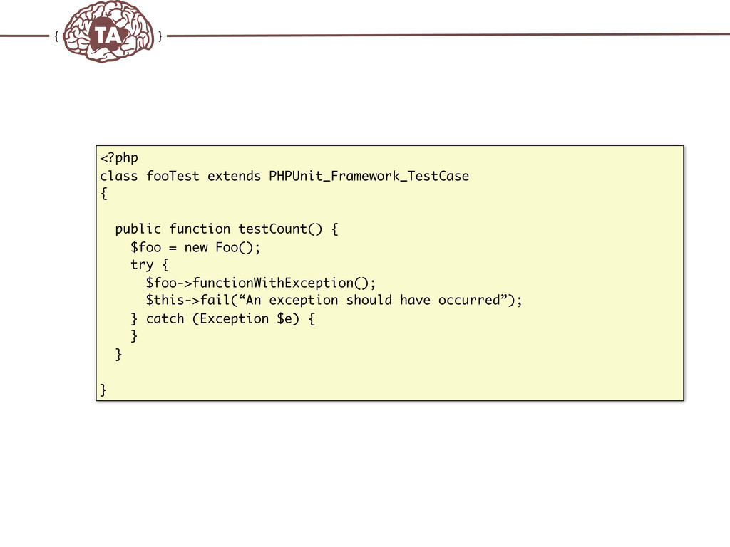 TechAdemy.nl <?php class fooTest extends PHPUni...