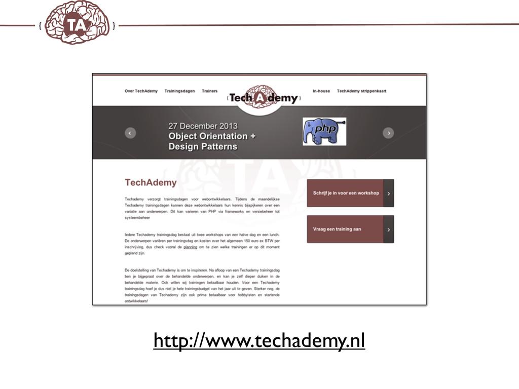 TechAdemy.nl http://www.techademy.nl