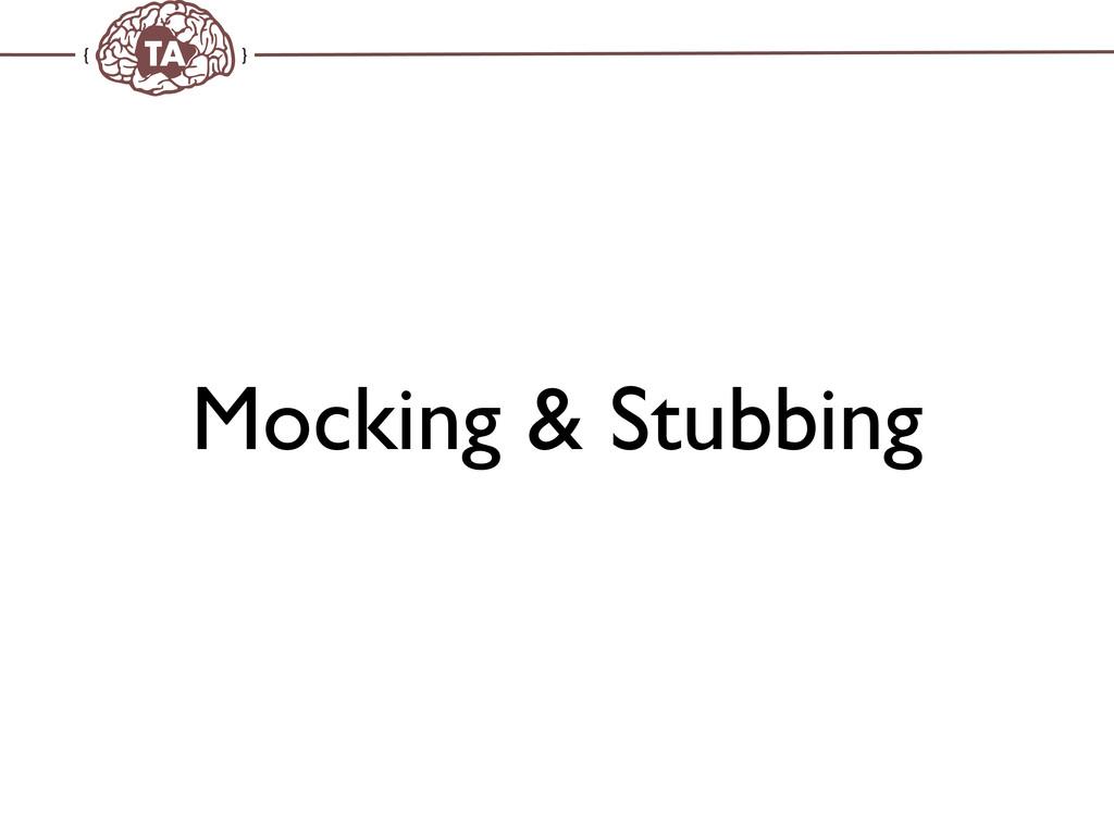 TechAdemy.nl Mocking & Stubbing
