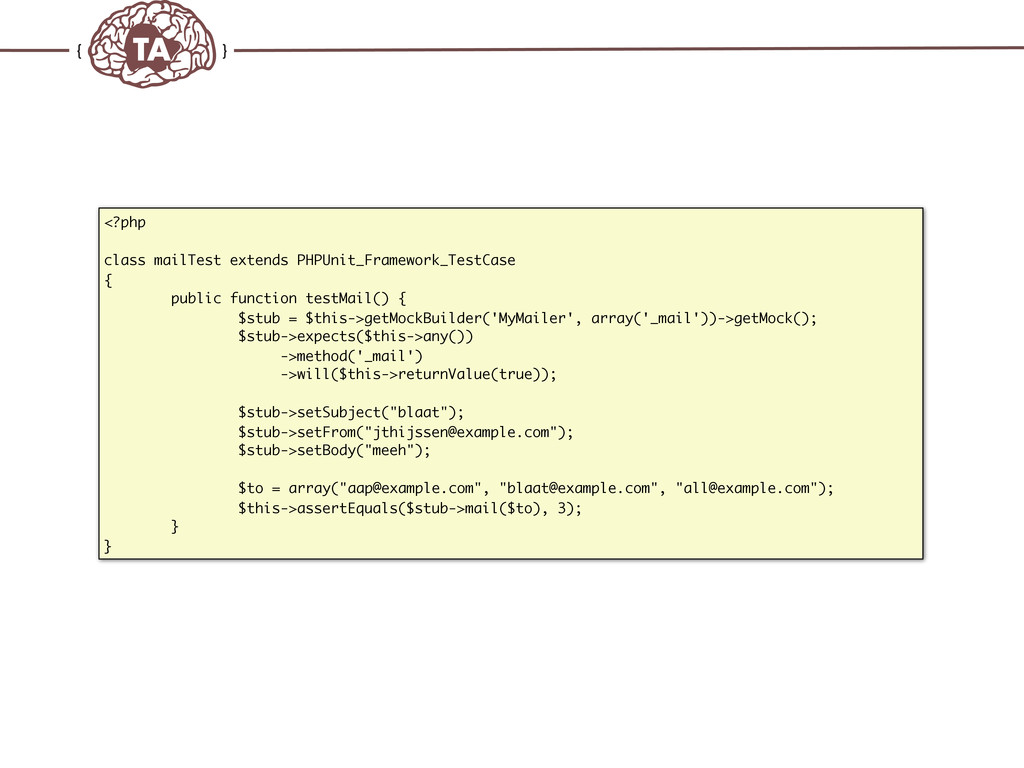 TechAdemy.nl <?php class mailTest extends PHPUn...