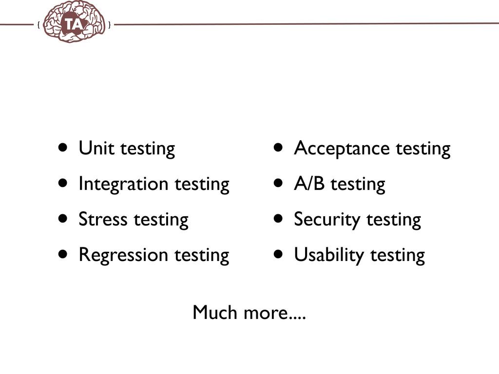 TechAdemy.nl • Unit testing • Integration testi...