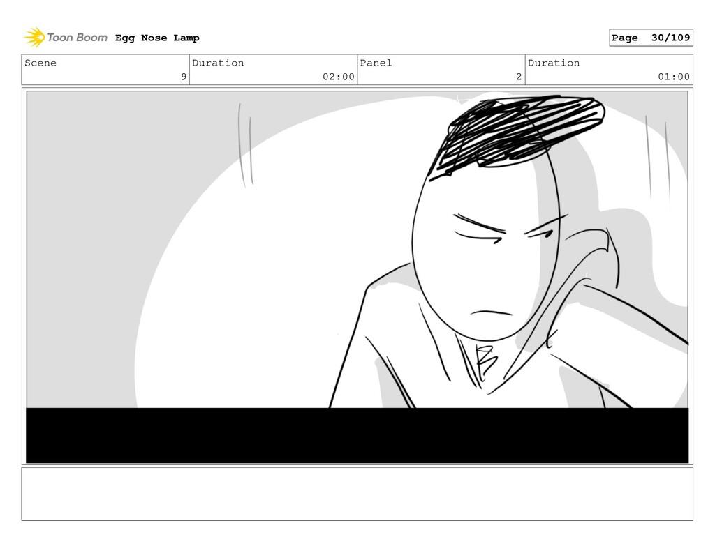 Scene 9 Duration 02:00 Panel 2 Duration 01:00 E...