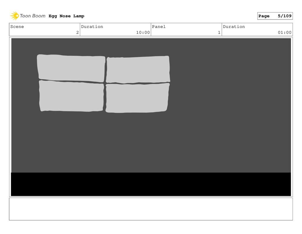Scene 2 Duration 10:00 Panel 1 Duration 01:00 E...