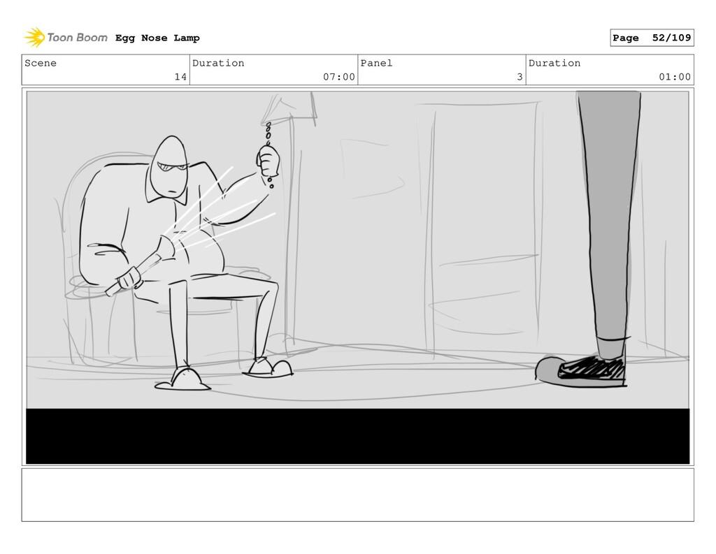 Scene 14 Duration 07:00 Panel 3 Duration 01:00 ...