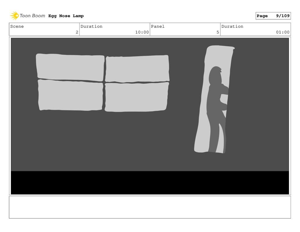 Scene 2 Duration 10:00 Panel 5 Duration 01:00 E...