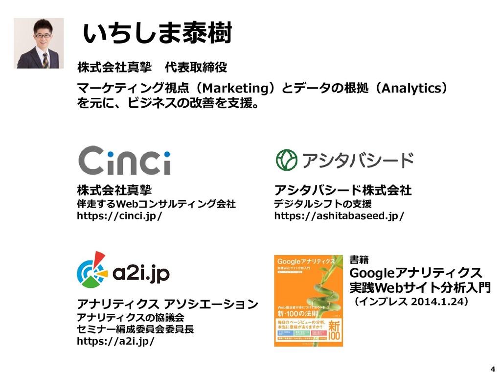 株式会社真摯 代表取締役 マーケティング視点(Marketing)とデータの根拠(Analyt...