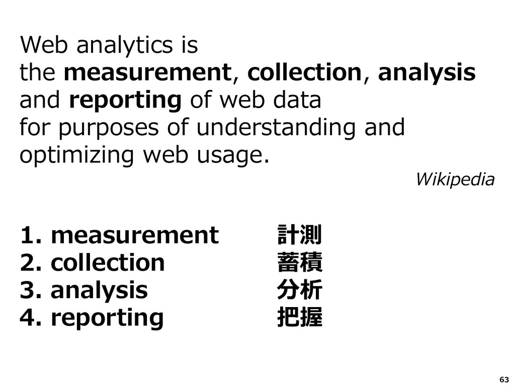 Web analytics is the measurement, collection, a...