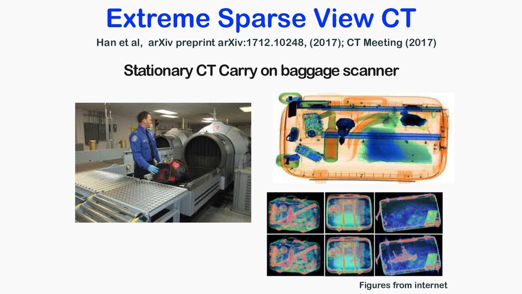 Figures from internet Extreme Sparse View CT St...