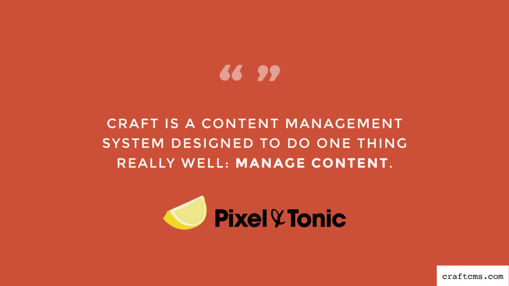 CRAFT IS A CONTENT MANAGEMENT SYSTEM DESIGNED T...