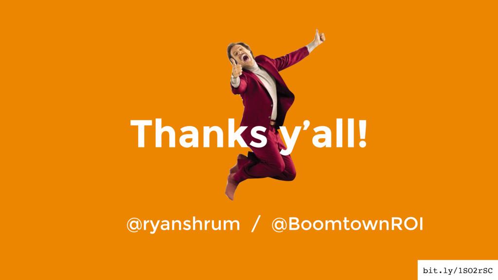 Thanks y'all! bit.ly/1SO2rSC @ryanshrum / @Boom...