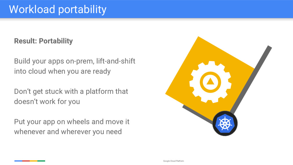 Google Cloud Platform Result: Portability Build...