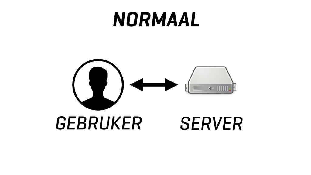 NORMAAL GEBRUKER SERVER