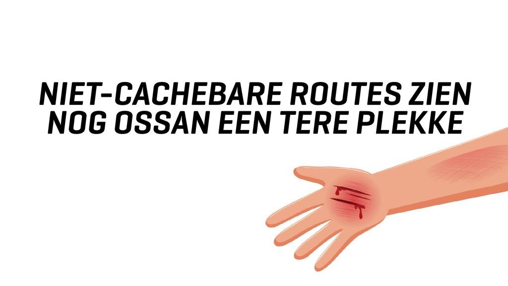 NIET-CACHEBARE ROUTES ZIEN NOG OSSAN EEN TERE P...
