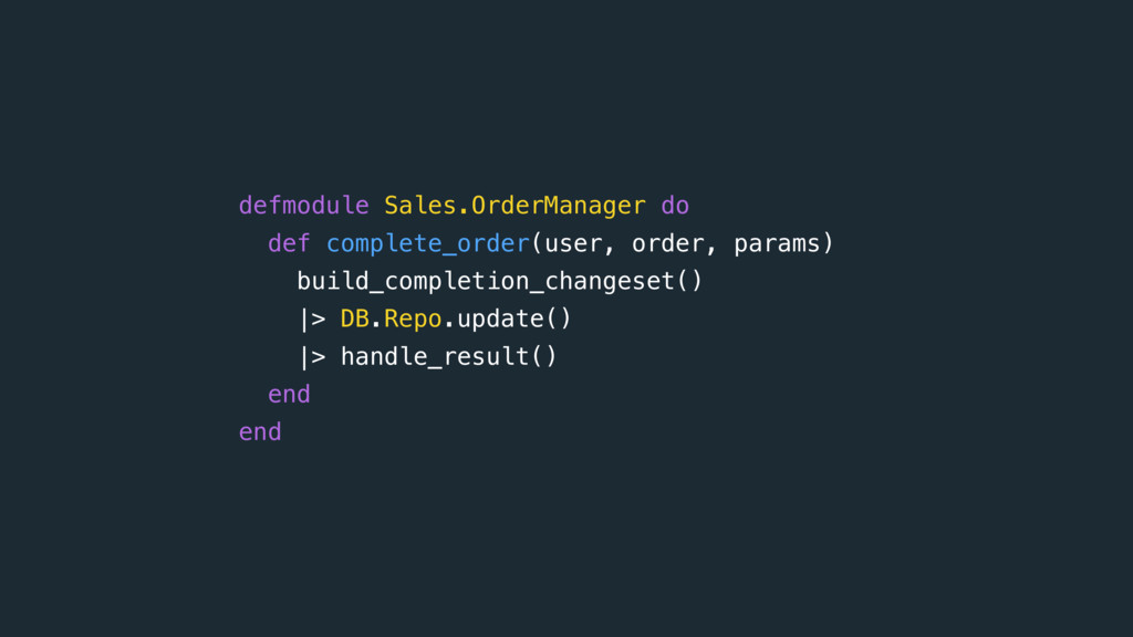 defmodule Sales.OrderManager do