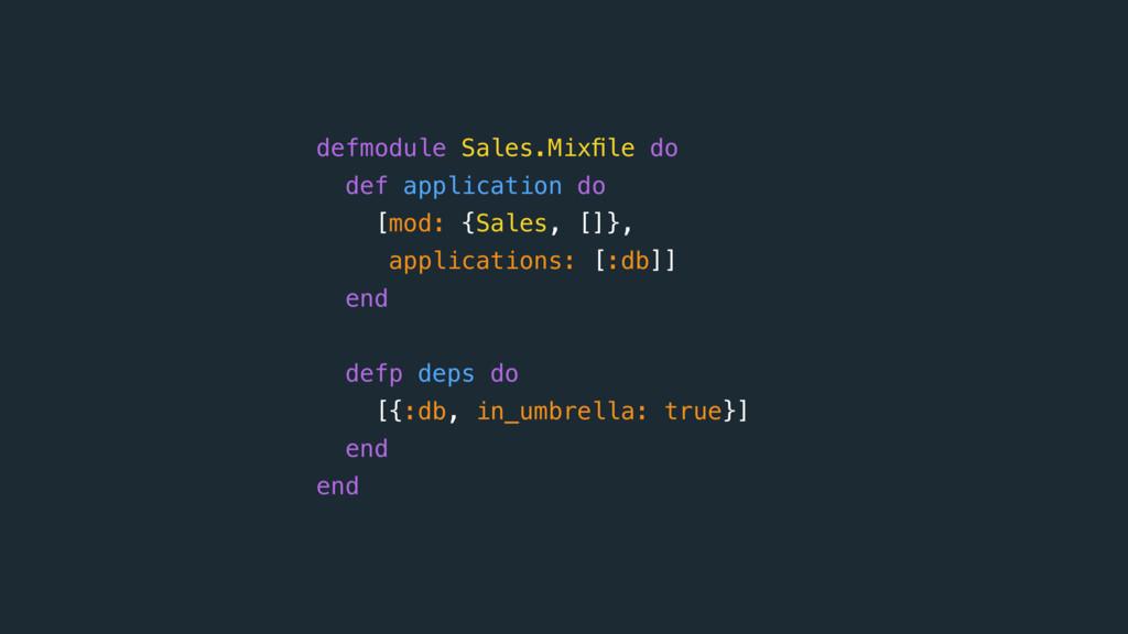 defmodule Sales.Mixfile do def application do [m...