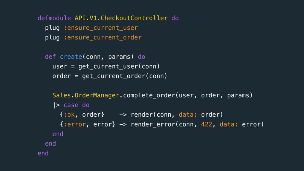 defmodule API.V1.CheckoutController do plug :en...