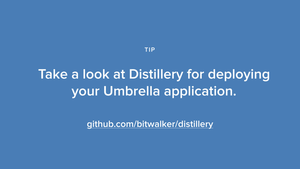 github.com/bitwalker/distillery Take a look at ...
