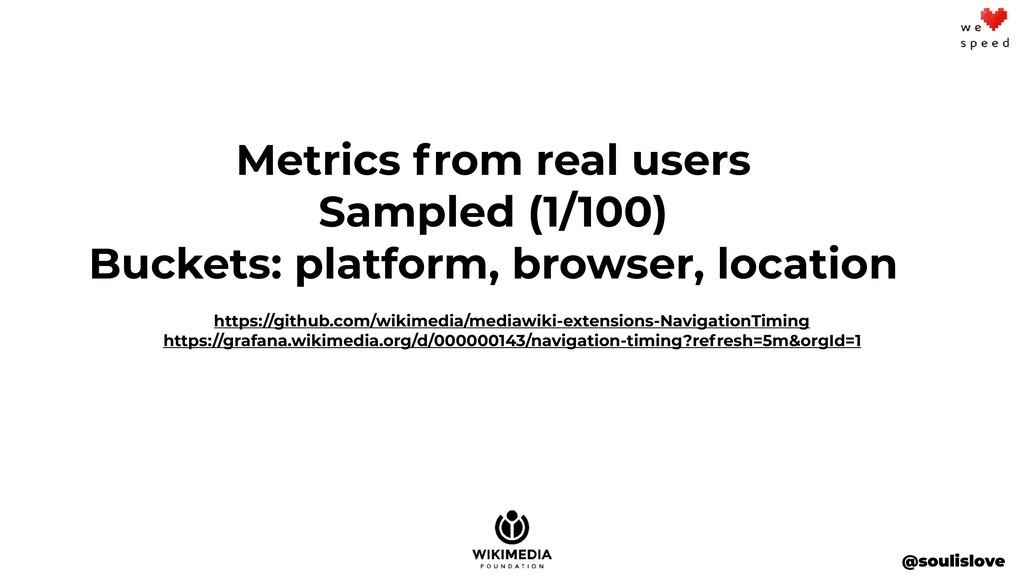 @soulislove Metrics from real users Sampled (1/...
