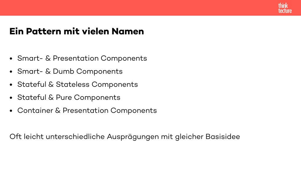 • Smart- & Presentation Components   • Smart- &...