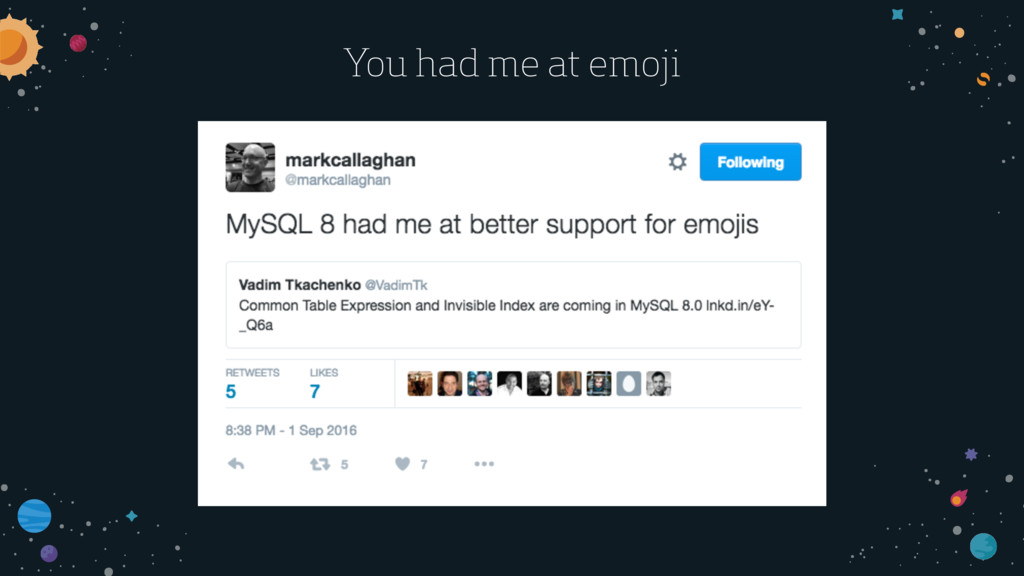 You had me at emoji
