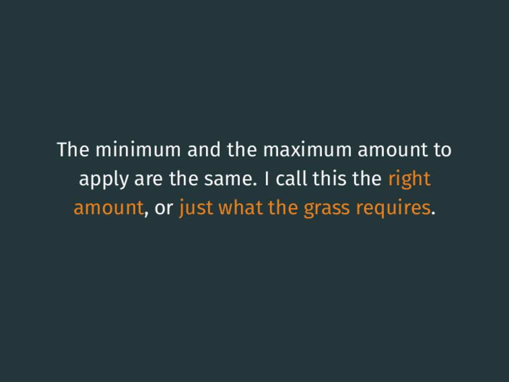 The minimum and the maximum amount to apply are...