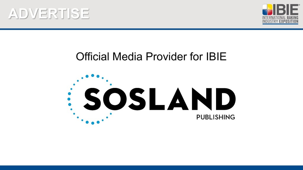 ADVERTISE Official Media Provider for IBIE
