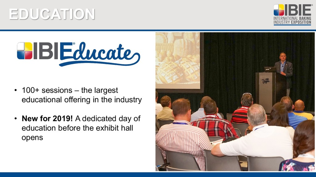 EDUCATION • 100+ sessions – the largest educati...