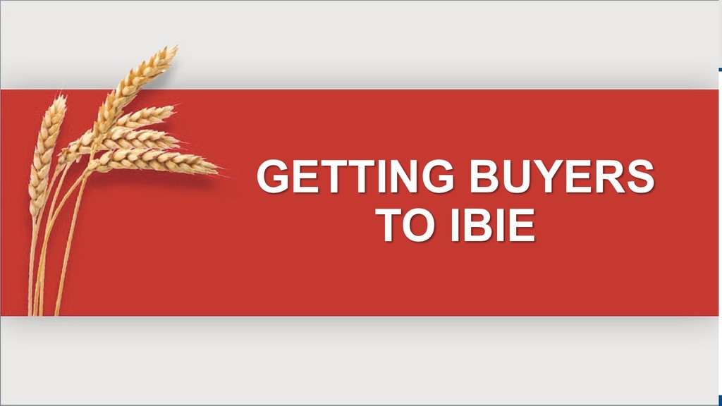 GETTING BUYERS TO IBIE