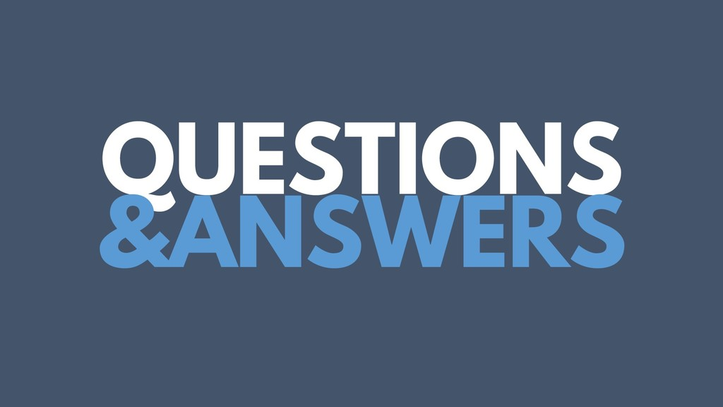 QUESTIONS &ANSWERS