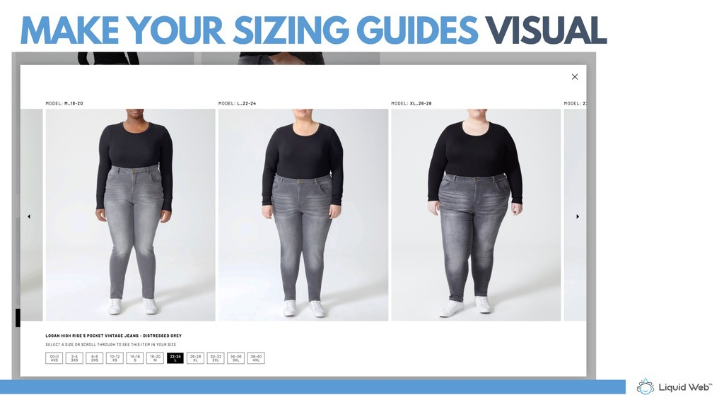 MAKE YOUR SIZING GUIDES VISUAL