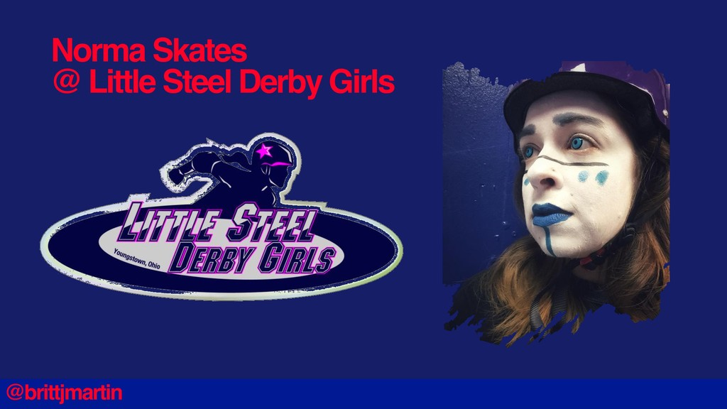 Norma Skates @ Little Steel Derby Girls @brittj...