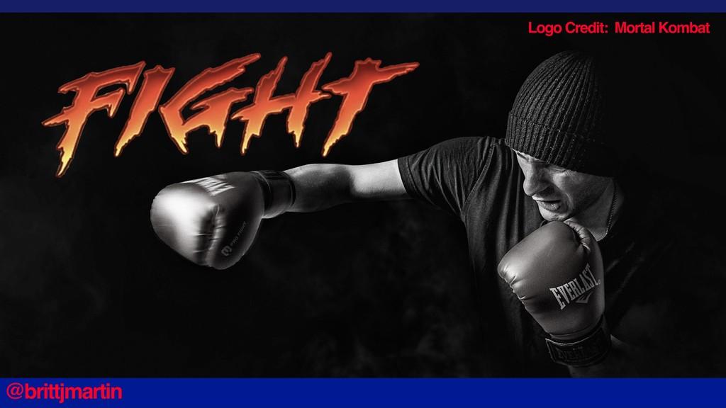Logo Credit: Mortal Kombat @brittjmartin