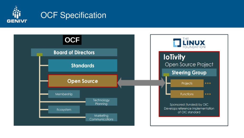 OCF Specification OCF
