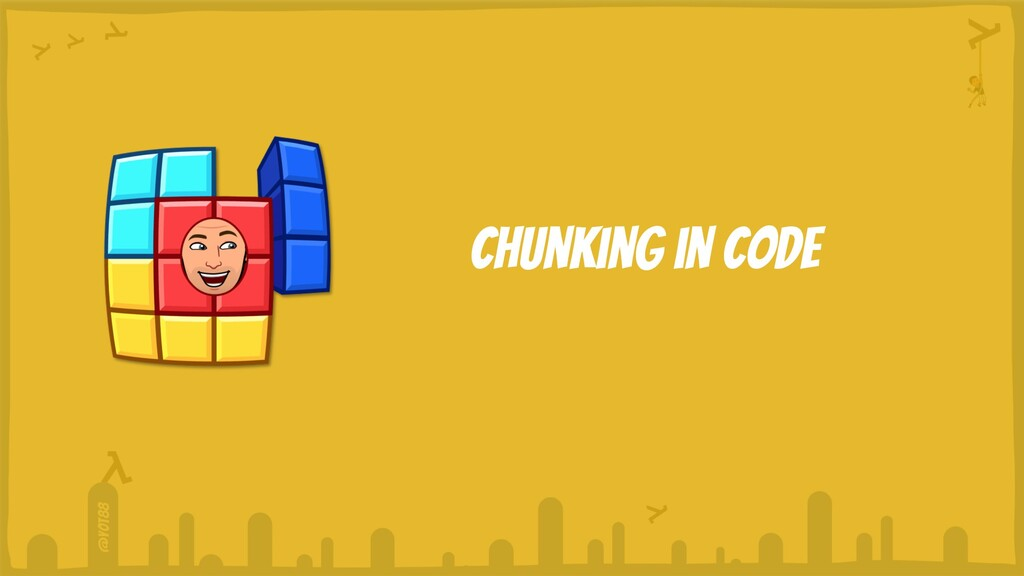 @yot88 Chunking in code