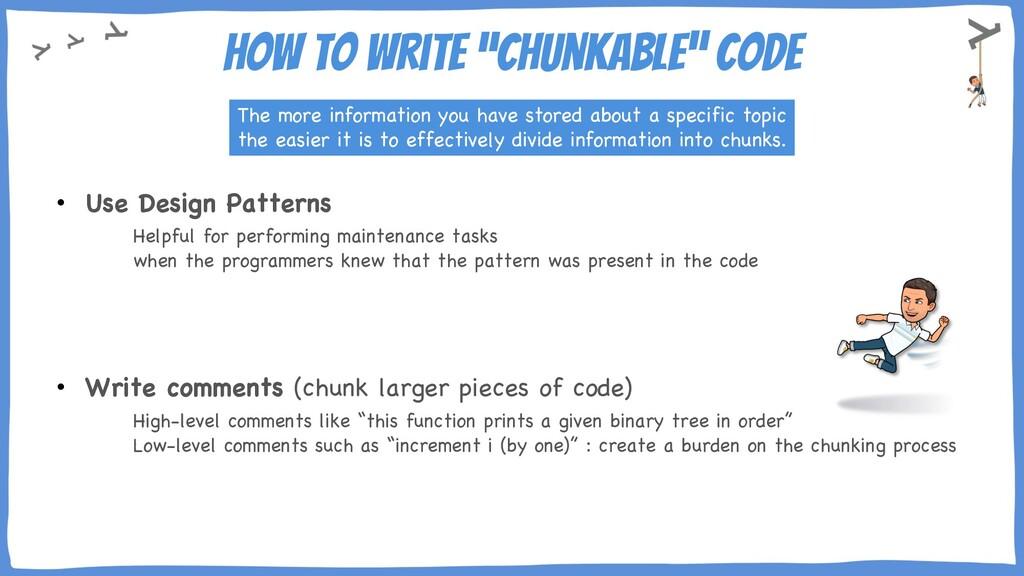 "How to write ""chunkable"" code • Use Design Patt..."