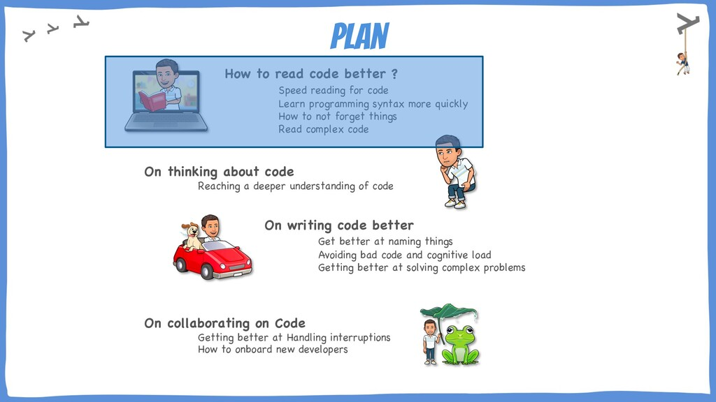 plan How to read code better ? Speed reading fo...