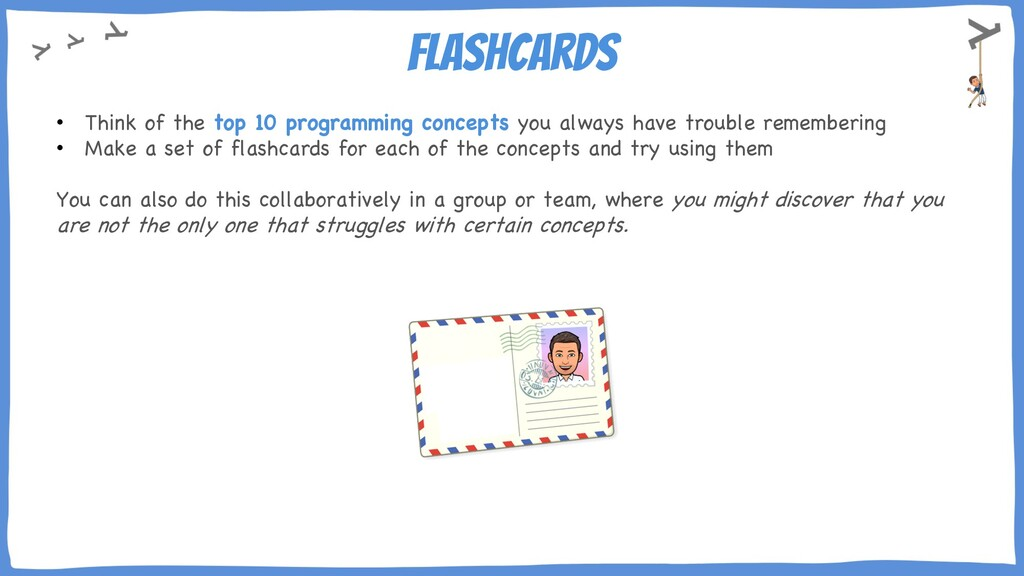 Flashcards • Think of the top 10 programming co...