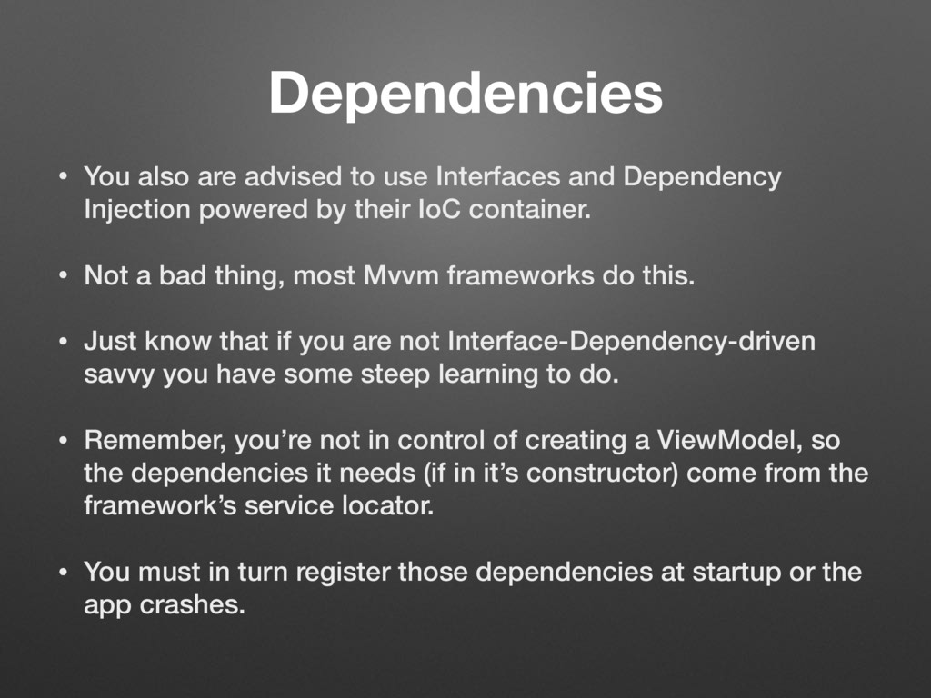 Dependencies • You also are advised to use Inte...
