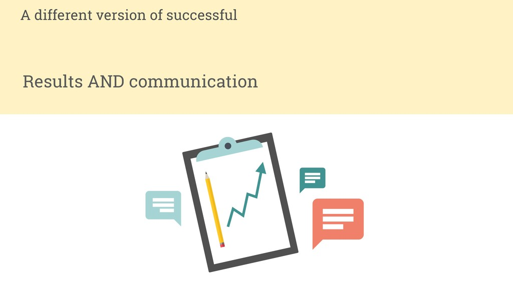 Results AND communication A different version o...