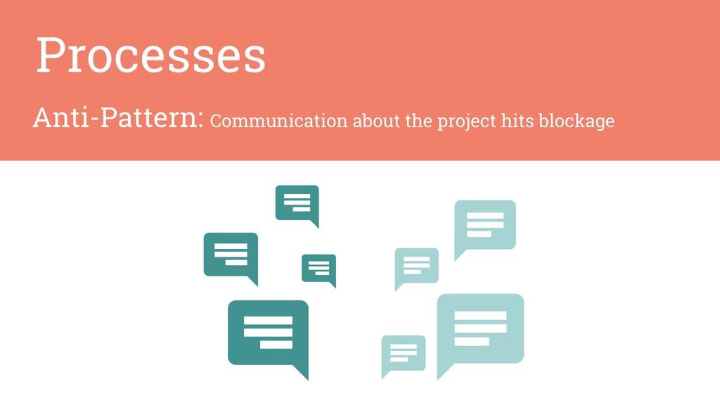 Anti-Pattern: Communication about the project h...