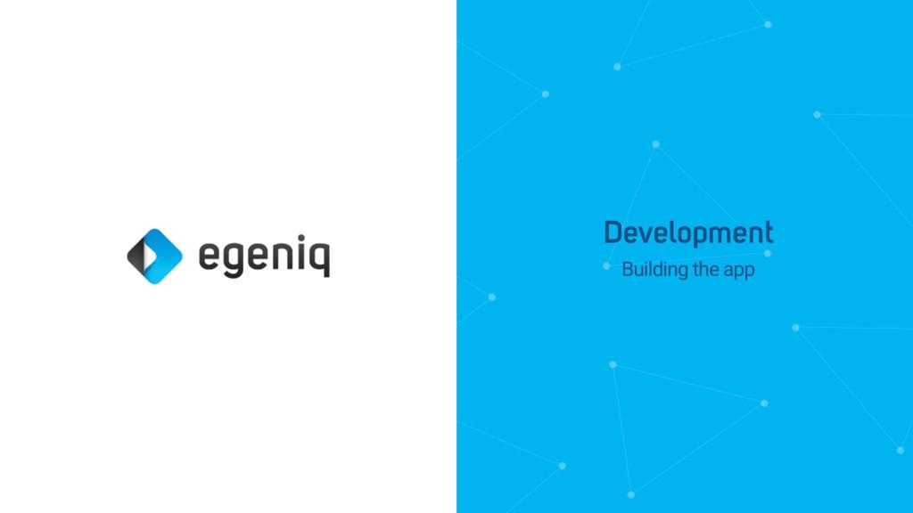 Building the app Development