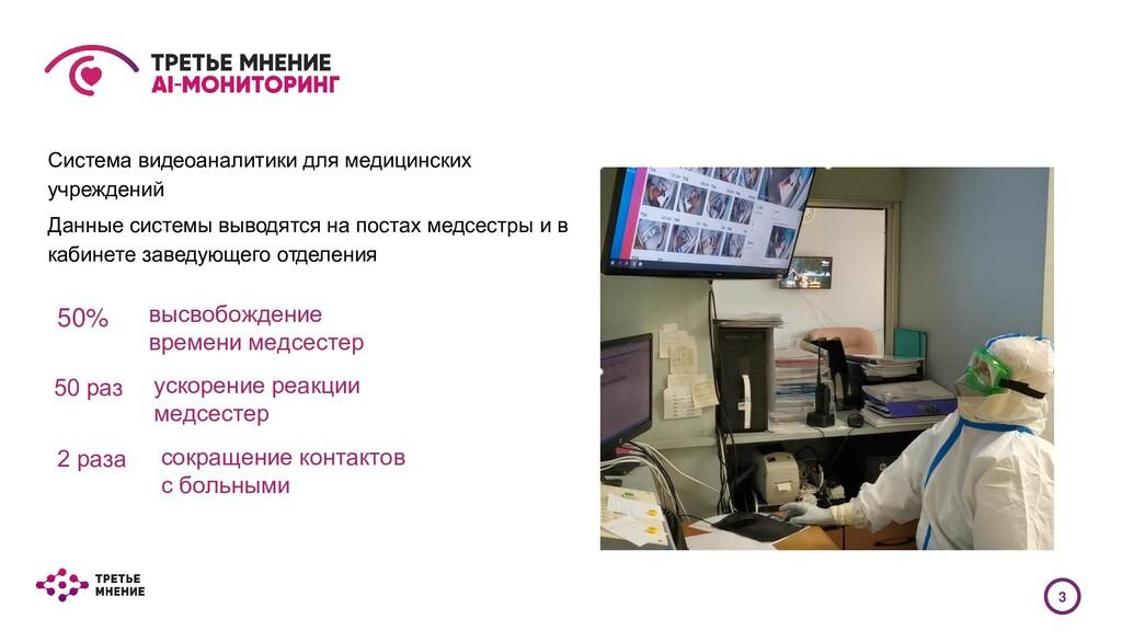 Система видеоаналитики для медицинских учрежден...