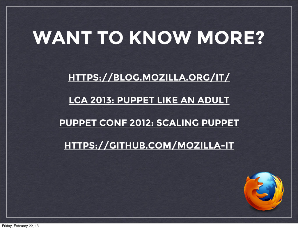WANT TO KNOW MORE? HTTPS://BLOG.MOZILLA.ORG/IT/...