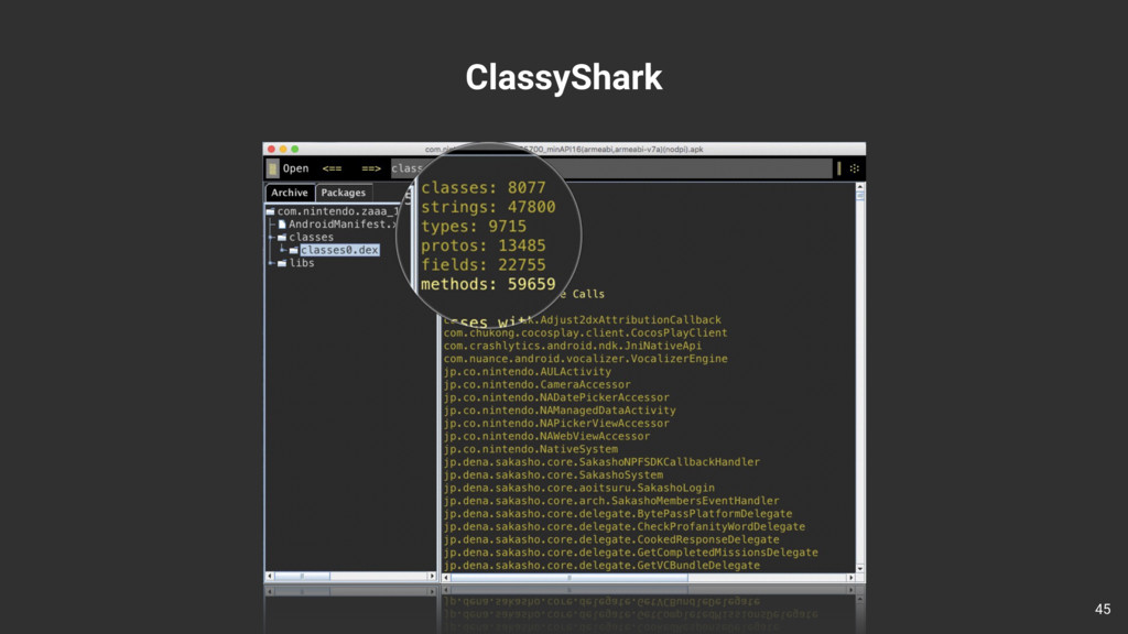 ClassyShark 45